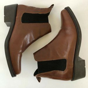 Ariat Brown Leather Chelsea Ankle Boots Size 7